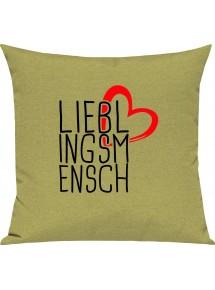 Sofa Kissen zum kuscheln Lieblingsmensch