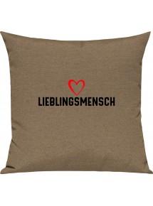 Sofa Kissen zum verschenken Lieblingsmensch