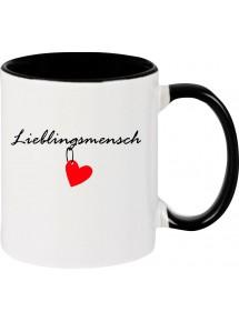 Kaffeepott Herz Lieblingsmensch