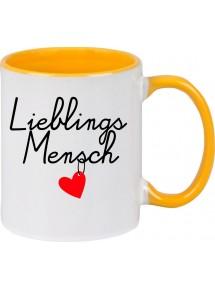 Kaffeepott Partnergeschenk Lieblingsmensch