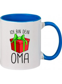 Kindertasse Tasse, Ich bin dein Geschenk Oma Weihnachten Geburtstag, Tasse Kaffee Tee