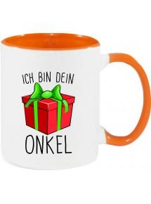 Kindertasse Tasse, Ich bin dein Geschenk Onkel Weihnachten Geburtstag, Tasse Kaffee Tee