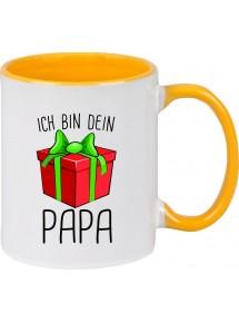 Kindertasse Tasse, Ich bin dein Geschenk Papa Weihnachten Geburtstag, Tasse Kaffee Tee
