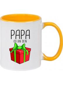 Kindertasse Tasse, Papa ich bin dein Geschenk Weihnachten Geburtstag, Tasse Kaffee Tee