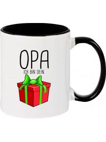 Kindertasse Tasse, Opa ich bin dein Geschenk Weihnachten Geburtstag, Tasse Kaffee Tee