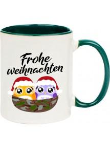 Kindertasse Tasse, Frohe Weihnachten Eule Merry Christmas, Tasse Kaffee Tee