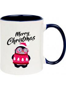 Kindertasse Tasse, Merry Christmas Pinguin Frohe Weihnachten, Tasse Kaffee Tee