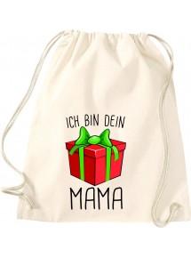 Kinder Gymsack, Ich bin dein Geschenk Mama Weihnachten Geburtstag, Gym Sportbeutel,