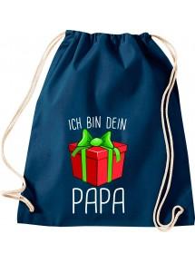 Kinder Gymsack, Ich bin dein Geschenk Papa Weihnachten Geburtstag, Gym Sportbeutel,