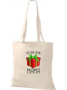 Kinder Tasche, Ich bin dein Geschenk Mama Weihnachten Geburtstag, Tasche Beutel Shopper