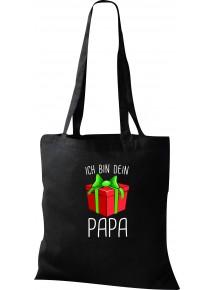 Kinder Tasche, Ich bin dein Geschenk Papa Weihnachten Geburtstag, Tasche Beutel Shopper