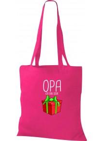 Kinder Tasche, Opa ich bin dein Geschenk Weihnachten Geburtstag, Tasche Beutel Shopper
