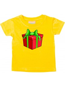 Baby Kids-T, Geschenk Präsent Mitbringsel Weihnachten Christmas Winter Schnee Tiere Tier Natur