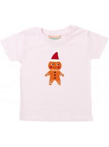 Baby Kids-T, Lebkuchen Lebkuchenfigur Plätzchen Weihnachten Winter Schnee Tiere Tier Natur