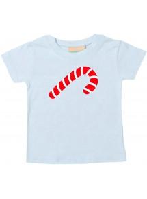 Baby Kids-T, Zuckerstange Candy Cane Weihnachten Christmas Winter Schnee Tiere Tier Natur