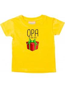 Baby Kids-T, Opa ich bin dein Geschenk Weihnachten Geburtstag