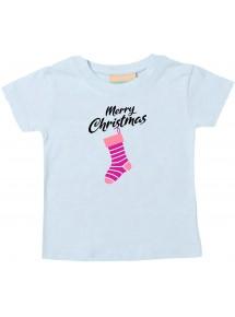 Baby Kids-T, Merry Christmas Weihnachtssocke Frohe Weihnachten