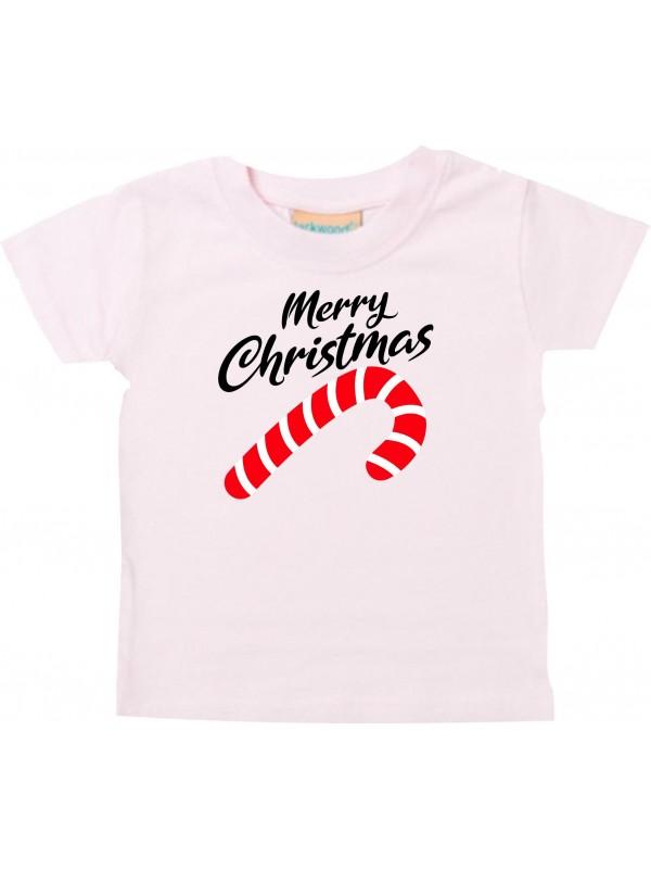 Baby Kids-T, Merry Christmas Zuckerstange Frohe Weihnachten