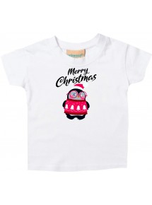 Baby Kids-T, Merry Christmas Pinguin Frohe Weihnachten