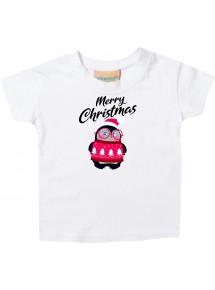 Baby Kids-T, Merry Christmas Pinguin Frohe Weihnachten