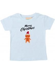 Baby Kids-T, Merry Christmas Lebkuchenmänchen Frohe Weihnachten