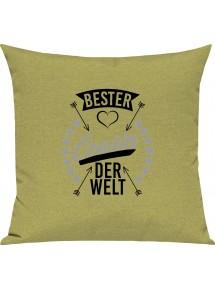 Sofa Kissen,  bester Cousin der Welt, Kuschelkissen Couch Deko,