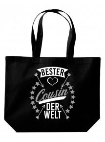 Beutel, bester Cousin der Welt, Tasche Shopper