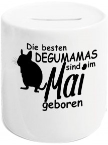 Spardose, Die besten Degumamas sind im  geboren Hund Frauchen Haustier