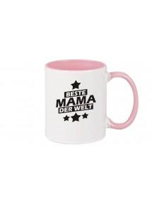 Kaffeepott beidseitig mit Motiv bedruckt beste Mama der Welt