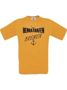 Männer-Shirt Heimathafen Bremen  kult, Größe: S- XXXL
