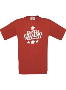 Männer-Shirt bester Freund der Welt