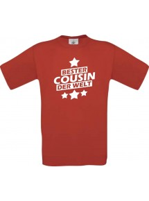Männer-Shirt bester Cousin der Welt