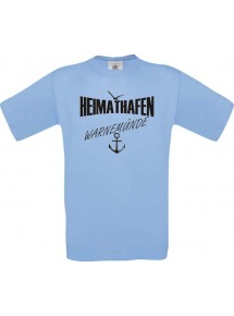 Männer-Shirt Heimathafen Warnemünde  kult, Größe: S- XXXL