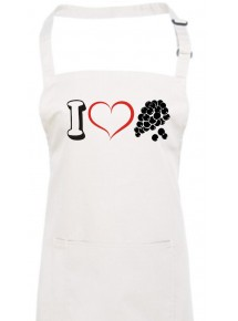 Kochschürze, Obst I love Weintraube Traube