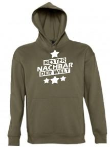 Kapuzen Sweatshirt  bester Nachbar der Welt