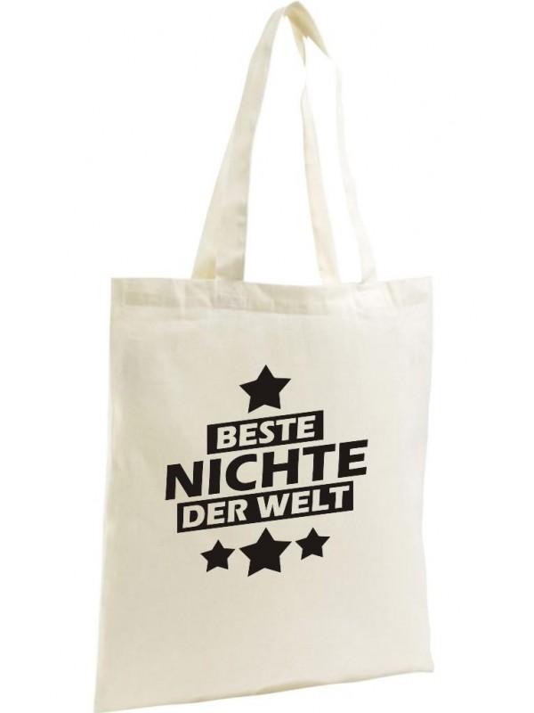Shopping Bag Organic Zen Shopper Ich bin Patentante weil Superheldin keine Opti