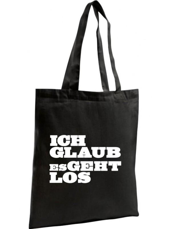 Shopping Bag Organic Zen, Shopper kultiger Spruch ich glaub es geht los