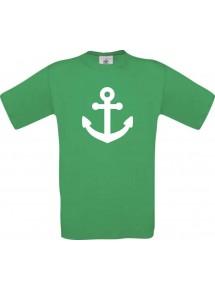 TOP Kinder-Shirt Anker Boot Skipper Kapitän kult Unisex T-Shirt, Größe 104-164