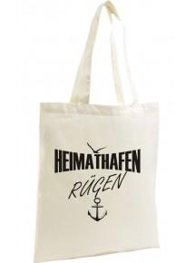 Shopping Bag Organic Zen, Shopper Heimathafen Rügen