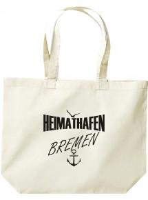große Einkaufstasche, Shopper Heimathafen Bremen