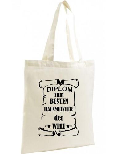 Organic Shopper Diplom zum besten Hausmeister der Welt,