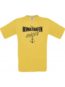 Kinder-Shirt Heimathafen Rügen kult Unisex T-Shirt, Größe 104-164