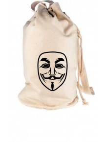 Rucksack Seesack Anonymous Maske